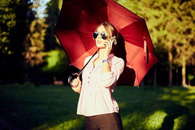 Розумний парасолька навпаки